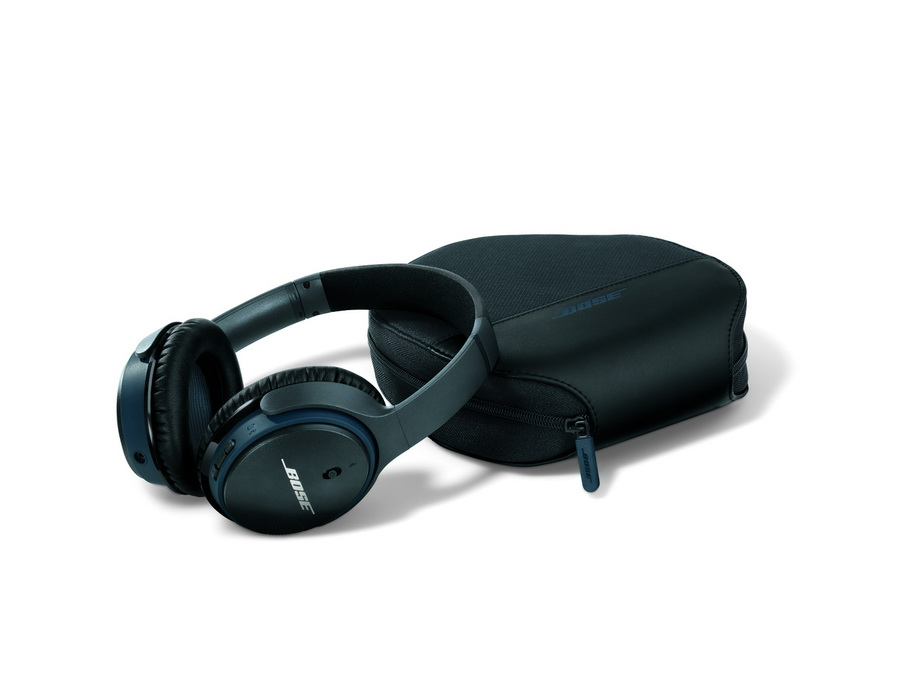 Bose SoundLink around-ear wireless II_schwarz _Etui