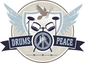 Logo drum4peace