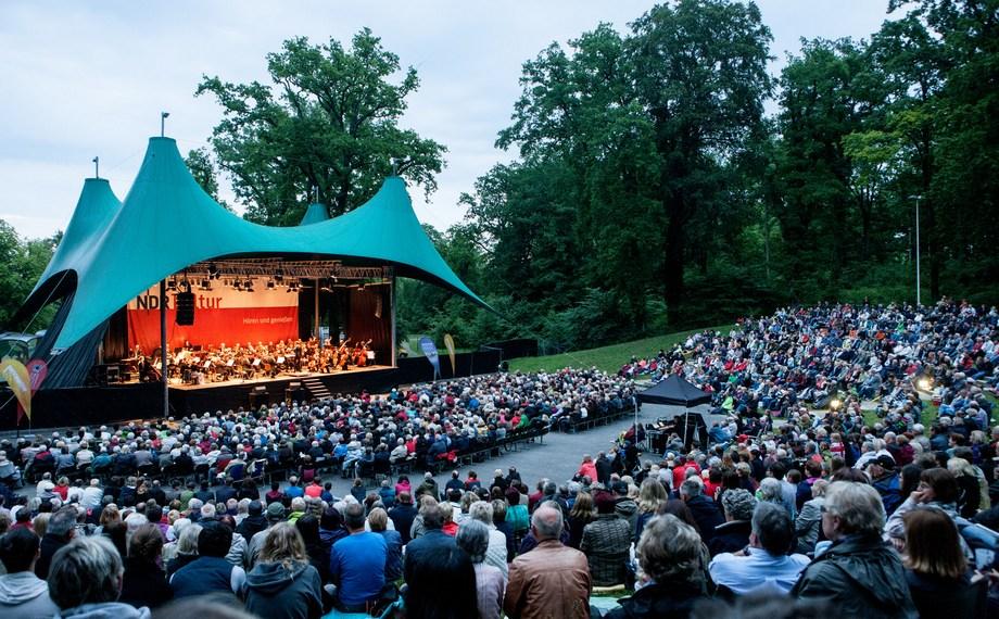 MeckProms Konzert, Foto Silke Winkler