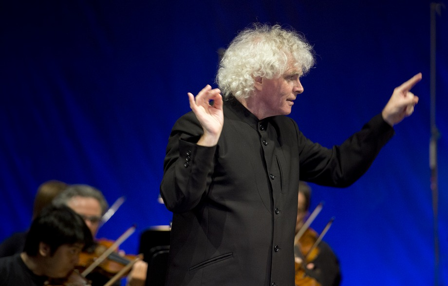 Simon Rattle (c) Monika Rittershaus